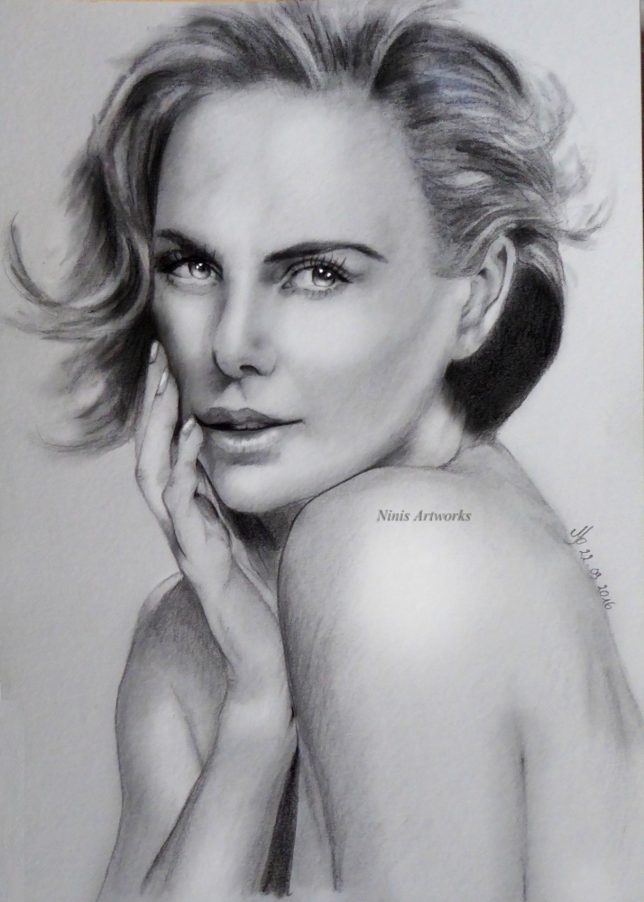 Charlize Theron by Ninis